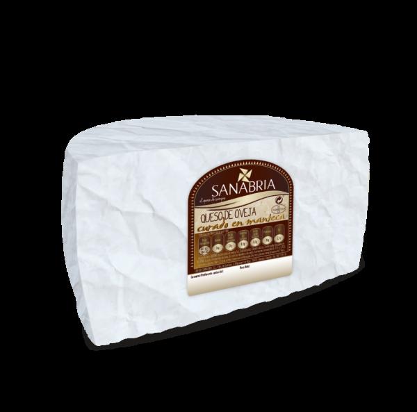 Queso de Oveja en manteca-MediaPieza
